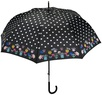 Зонт-трость автомат Perletti 16206 чёрный