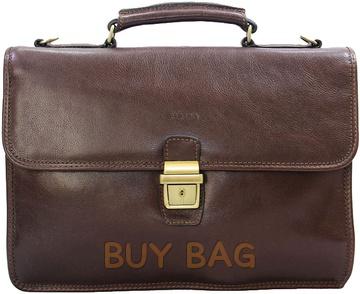 Кожаный портфель Katana k36825