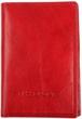 Кожаная обложка для паспорта Katana k988056 красный