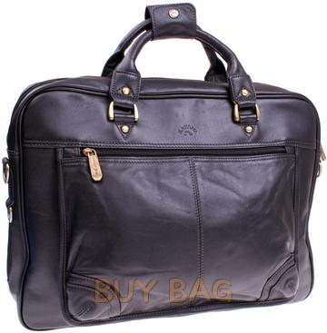Кожаная сумка для ноутбука Katana k34202
