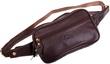 Кожаная сумка на пояс Katana k81001 коричневый