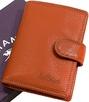 Визитница на кнопке Katana k953039 помаранчевий