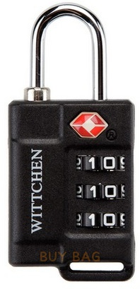 Навесной кодовый замок TSA Wittchen 56-3-021