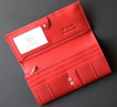 Кошелек с RFID Valentini 157-272 красный