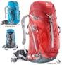 Рюкзак туристический Deuter 34422 красный