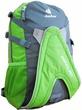 Рюкзак для роликов Deuter 42604 зеленый