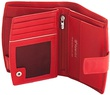 Кошелек кожаный Valentini 154-297 красный
